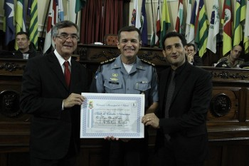 Entrega de Titulo e Moções a Policias Militares Foto Sergio Gomes 08-03-2018 (230)