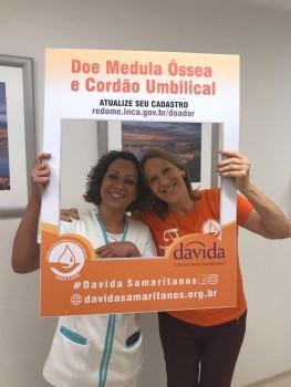 Agosto Laranja - Cristina, responsável pela ONG Davida e colaboradora