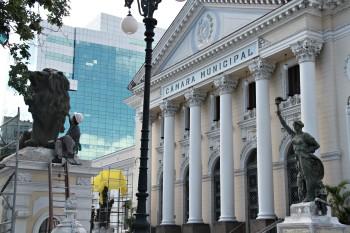 Restauração nas Estatuas da Câmara Foto Sergio Gomes 20-02-2019 (21) (1)